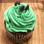 Keto Cupcake - Mint Chocolate Chip | Kai's Baking Studio