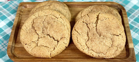 vegan snickdoodle cookies