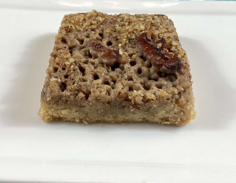 Pecan Keto Bar - Kai's Baking Studio