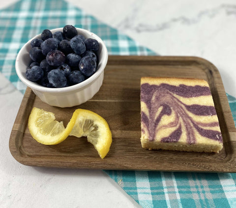 Keto bar- Blueberry Lemon - Kai's Baking Studio