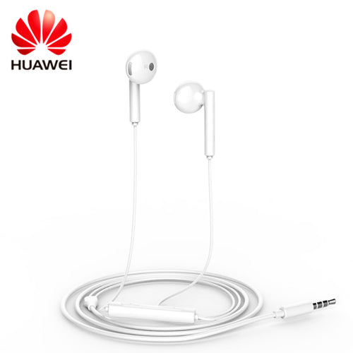 Genuine Huawei AM115 Stereo Earphone Handsfree Headset - White
