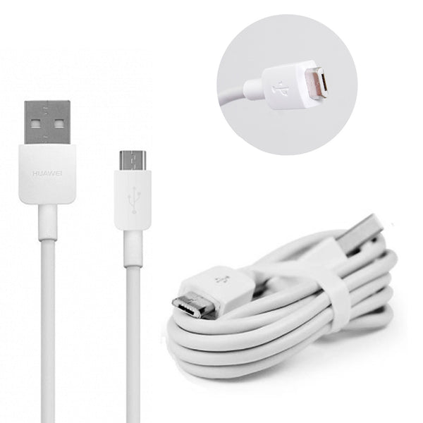 Genuine Huawei Plug & Micro USB Charging Cable For Huawei Ascend, Mate, Lite, Honor Models