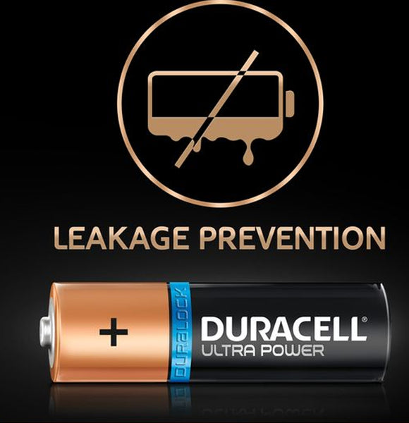 Duracell AAA Ultra Power 1.5v Alkaline Batteries (LR03,MX2400) - (12 Pack)