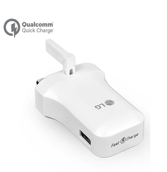 Genuine LG Fast Charge 3.0 Mains Plug & Type-C USB Data Cable For Various LG Phones