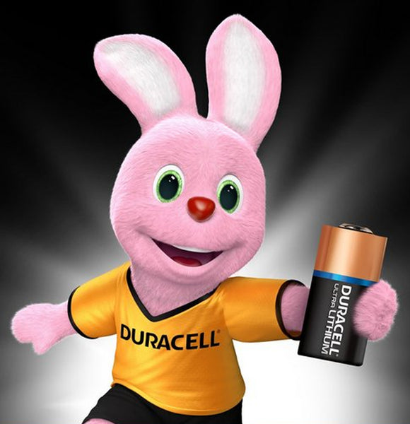 Duracell x10 CR123 3V High Power Lithium Batteries (CR123A, CR17345) (5 Packs)