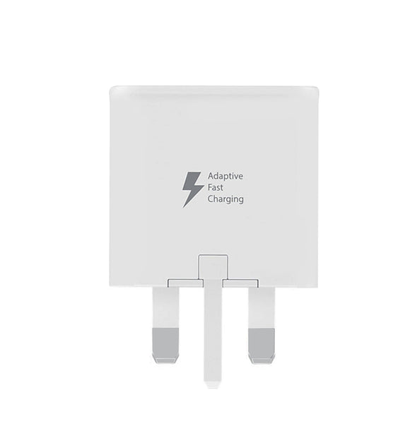 Genuine Samsung White Fast Charger With Micro USB Cable For Galaxy S6, S6 Plus, S6 Edge, S7, S7 Edge