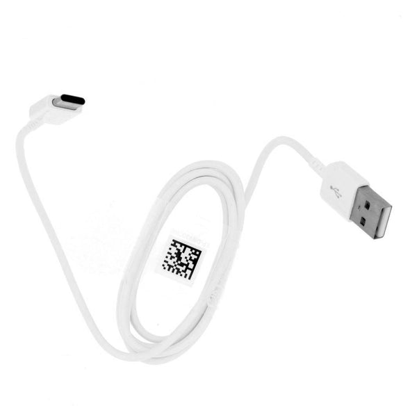 Genuine Samsung White Fast Charger With Type-C USB Cable For Galaxy S8, S8+, S9, S9+, S10e, S10, S10+