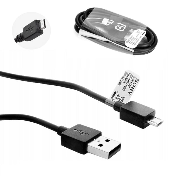 Genuine Sony Micro USB Charge & Sync USB Data Cable For Various Sony Xperia Phones