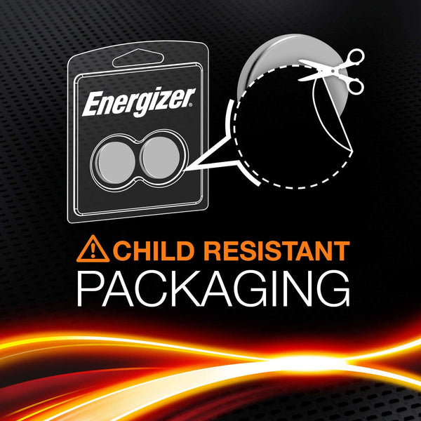 Energizer X2 CR2016 Coin Cell 3V Lithium Batteries (DL2016) (2 Pack)