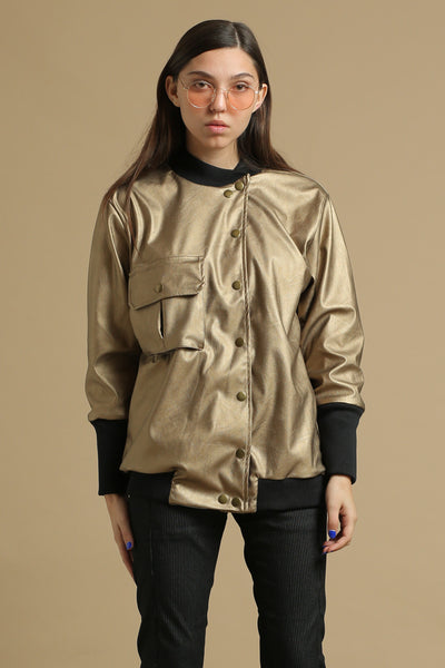 Pop bronze jacket