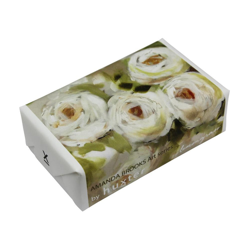 White Roses' Wrapped Soap - Lemongrass