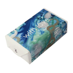 With love' - Into the Blue Wrapped Soap - Lemongrass