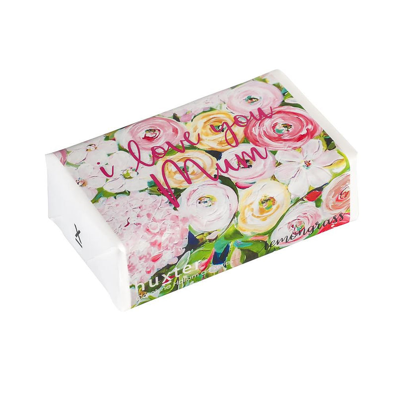 Evanslea - I love you Mum' Wrapped Soap - Lemongrass