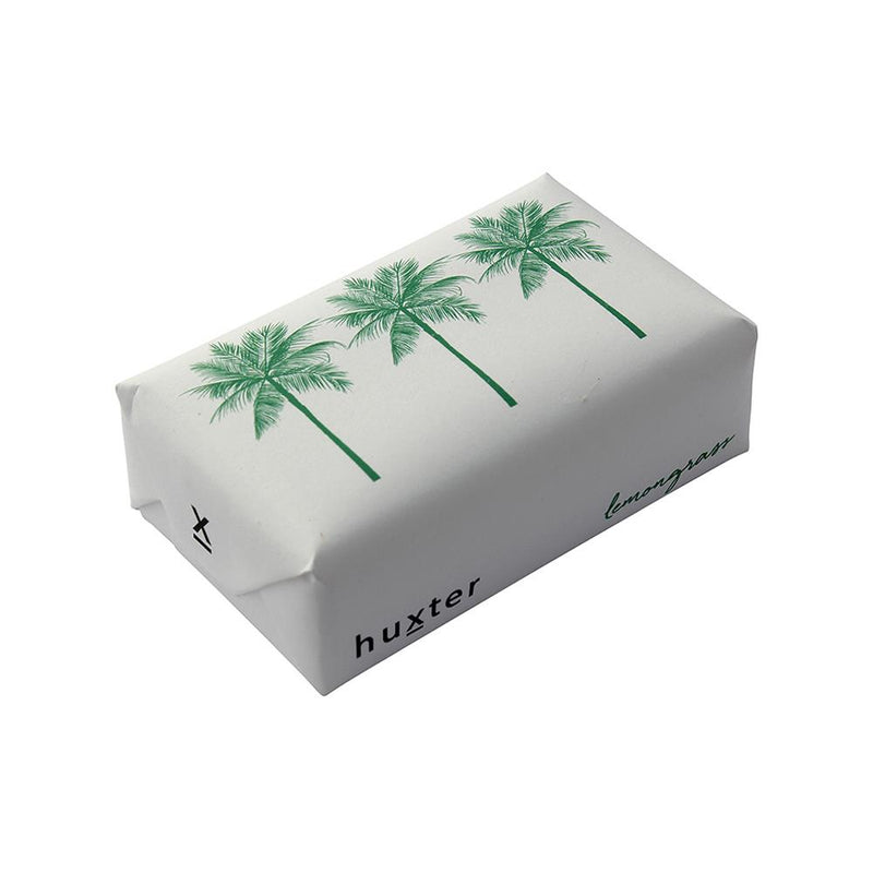 Palm Trees' Wrapped Soap - Lemongrass