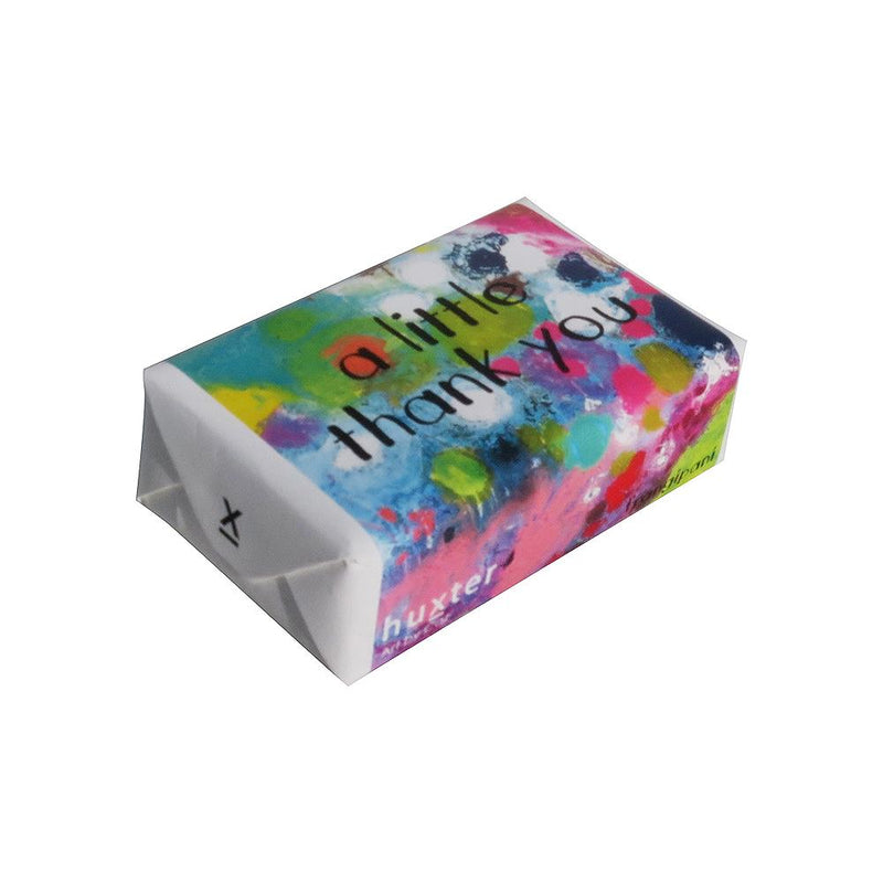 Coral Waters - A/L/ Thank you' Wrapped Soap - Frangipani