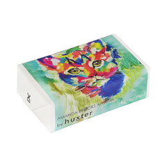 Flamboyant Feline' Wrapped Soap - Frangipani