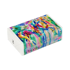 Run Wild Run Free' Wrapped Soap - Frangipani