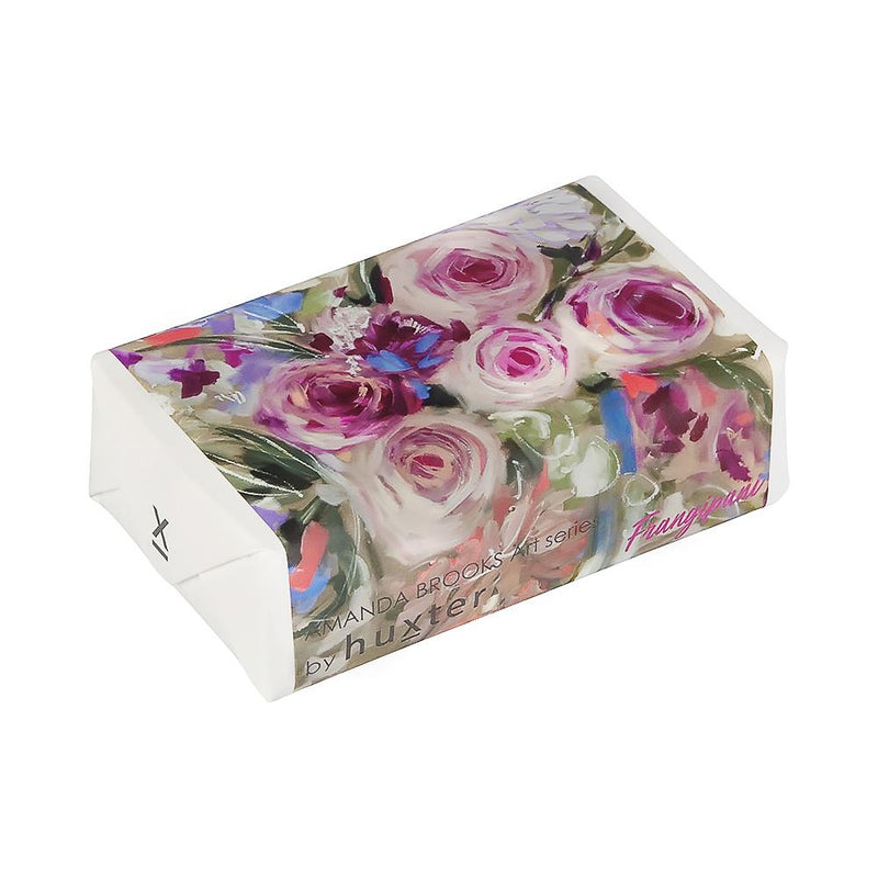 Australian Natives & Roses' Wrapped Soap - Frangipani