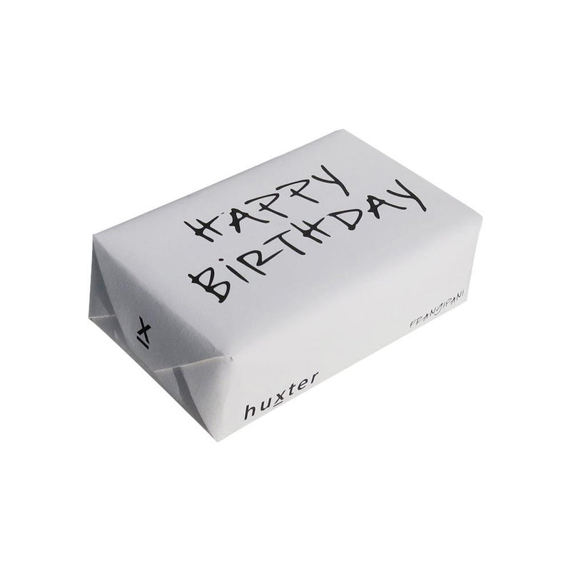 Happy Birthday' Wrapped Soap - Frangipani