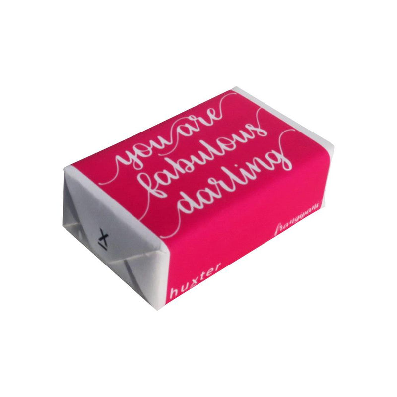You are Fabulous Darling' Wrapped Soap - Frangipani