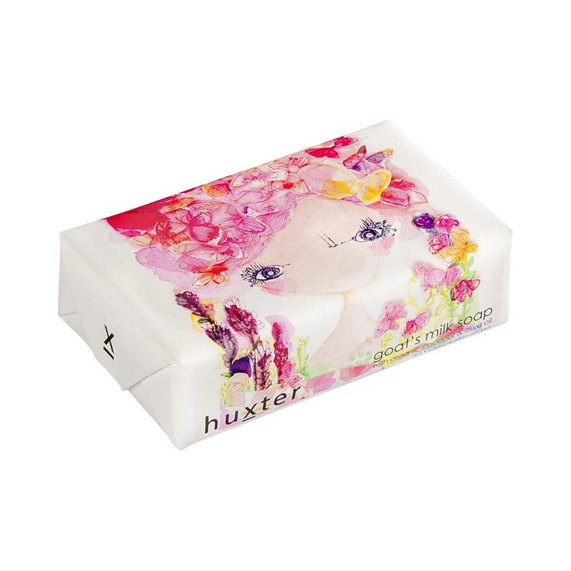 Florine' Girl Wrapped Soap - Goats Milk