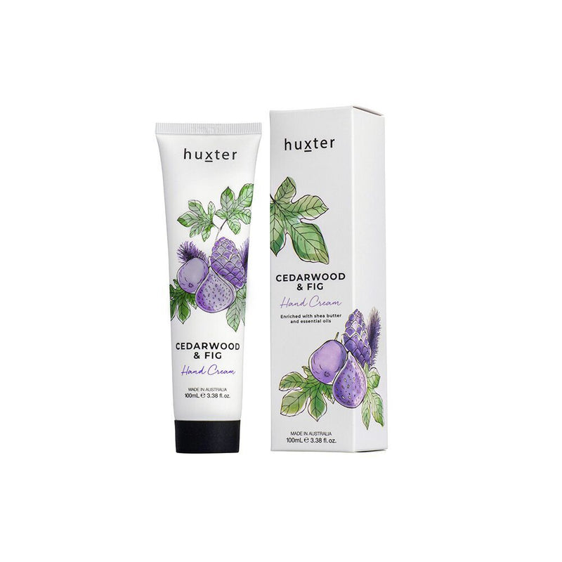 Hand Cream Floral 100ml - Cedarwood & Fig