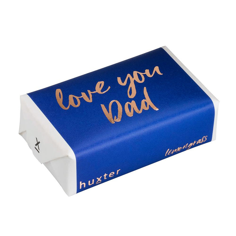 Love you Dad - Navy - ROSE GOLD FOIL