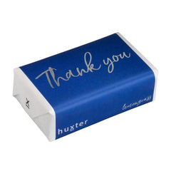 Thank you - Navy - SILVER FOIL