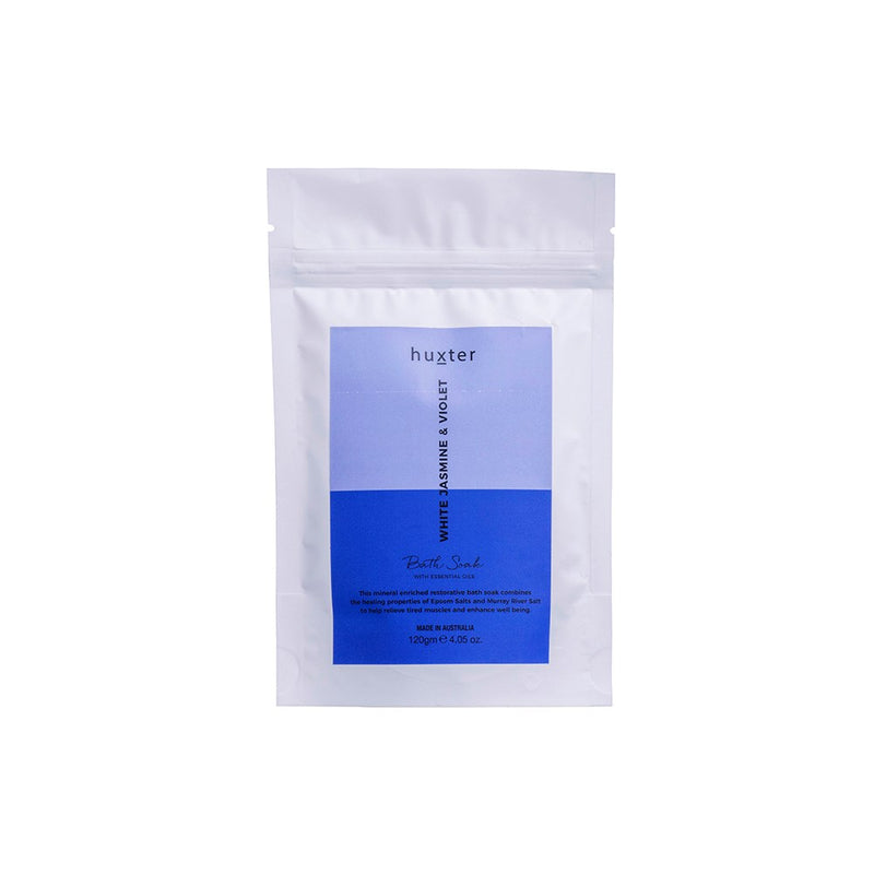 Bath Soak 120gm - White Jasmine & Violet