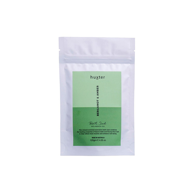 Bath Soak 120gm - Bergamot & Amber