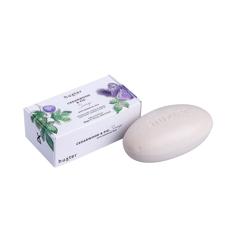 Botanicals Soap 185gm - Cedarwood & Fig
