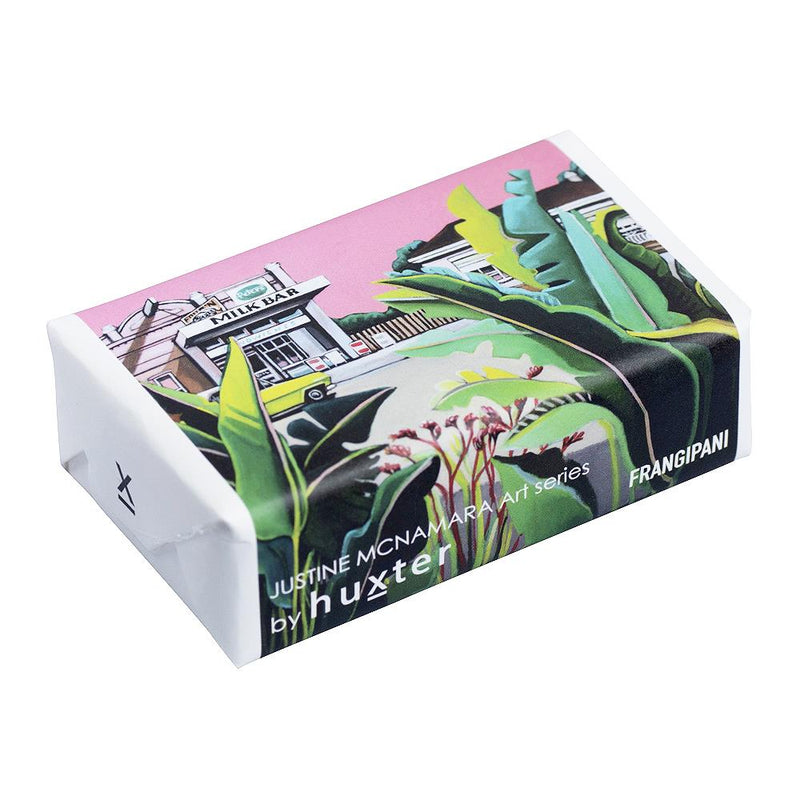 Urban Oasis' Wrapped Soap - Frangipani