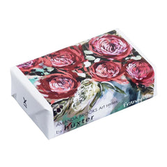 Red Waratah & Moonlight Grevillea' Wrapped Soap - Frangipani