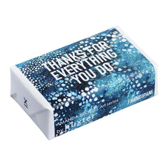 Guinea Girls' Blue - Thanks for everything you do Wrapped Soap - Frangipani