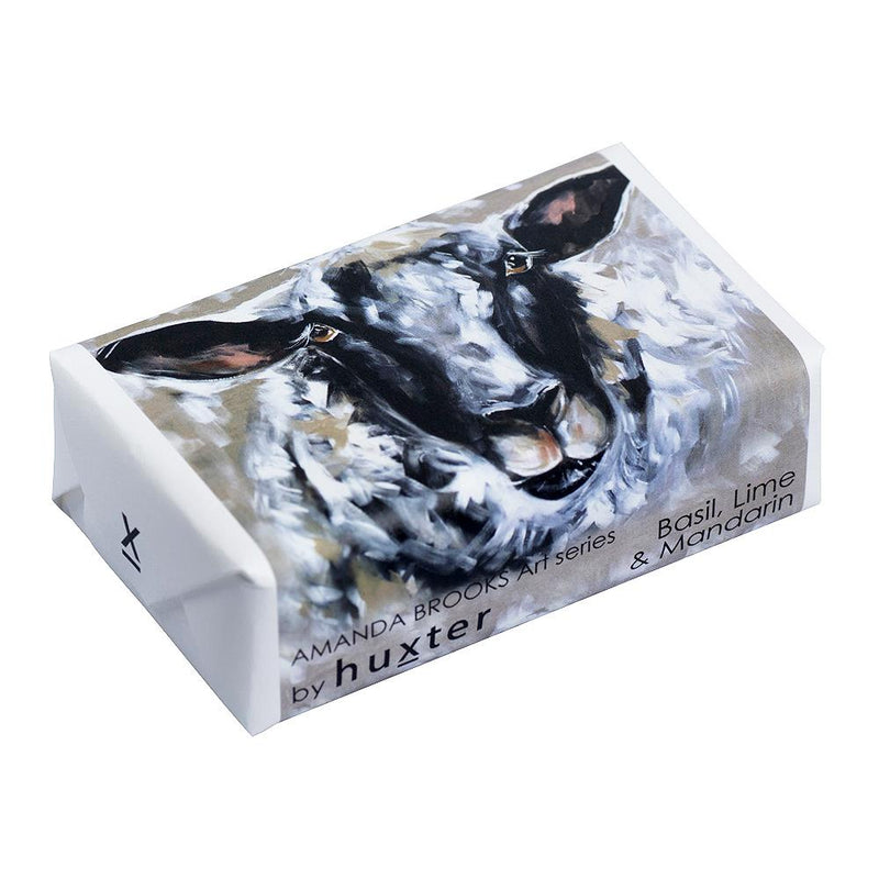 Have ewe any wool' Wrapped Soap - Basil Lime & Mandarin