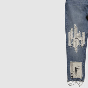 Rainchester Patched Denim