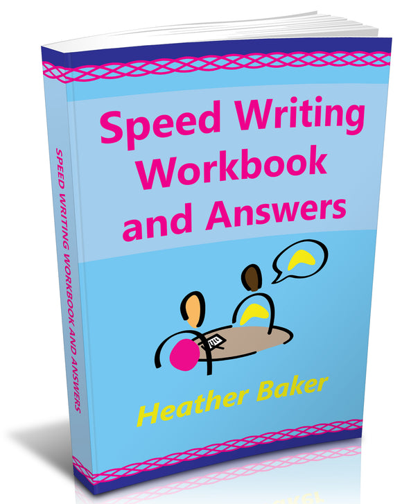 Speed Writing Book free resources including the audios