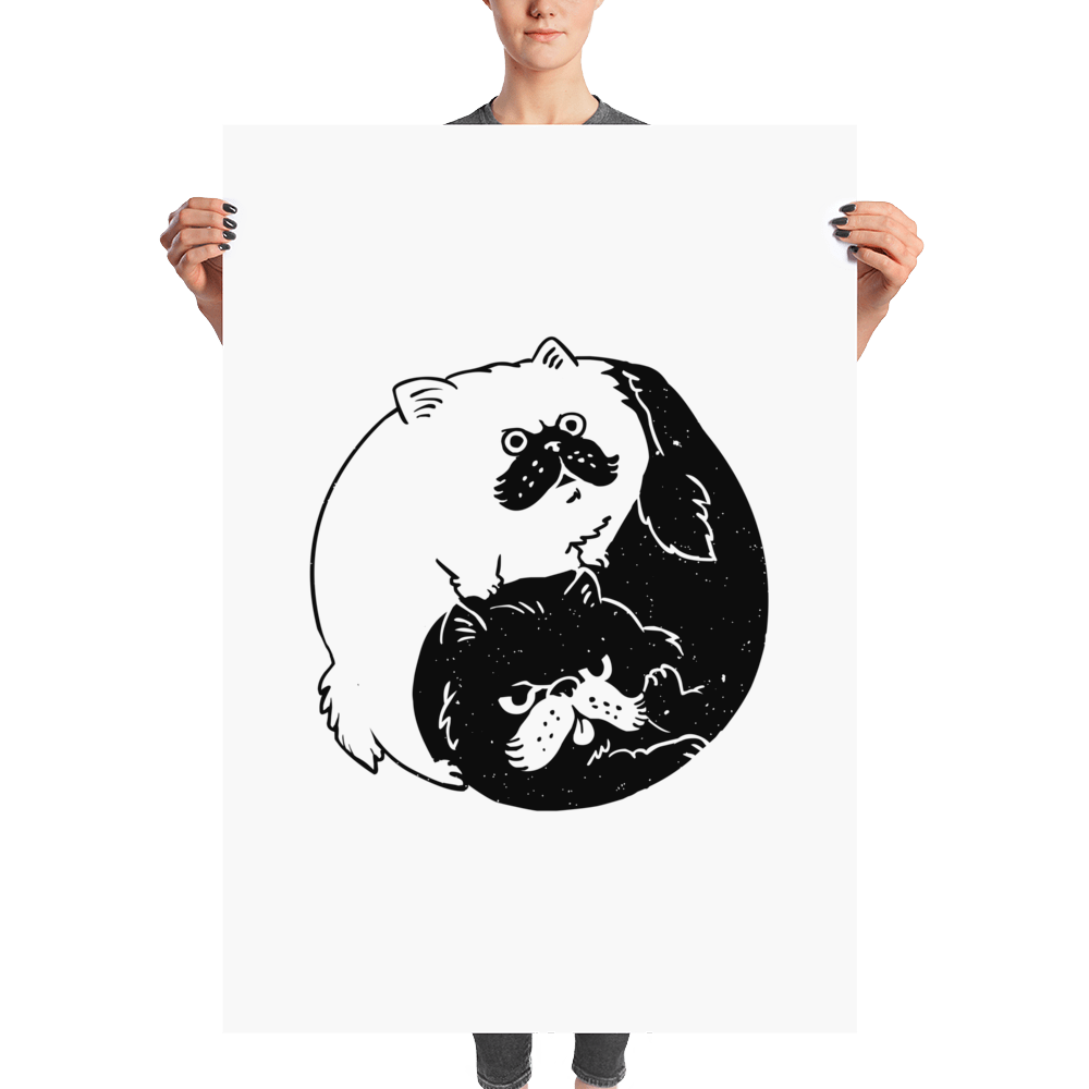 The Tao of Cats Poster