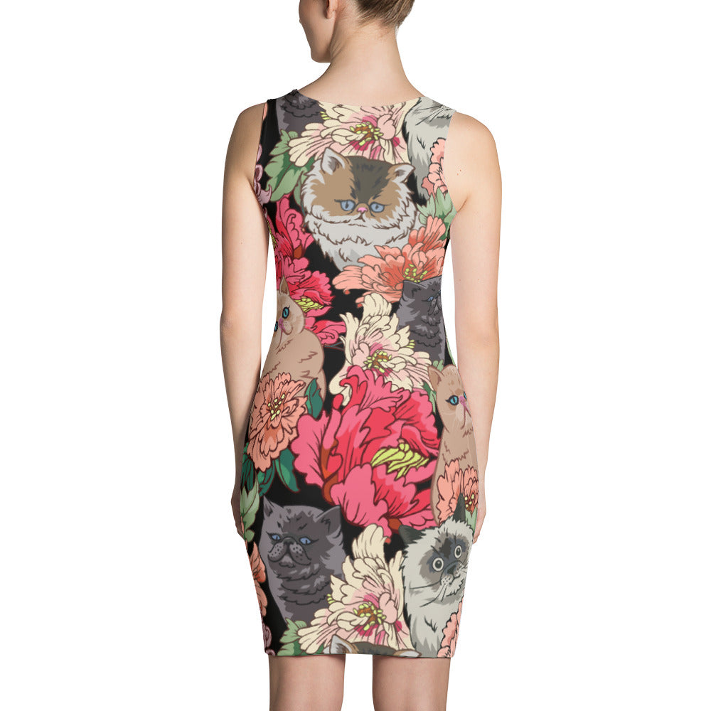 Because Cat Sublimation Cut & Sew Dress