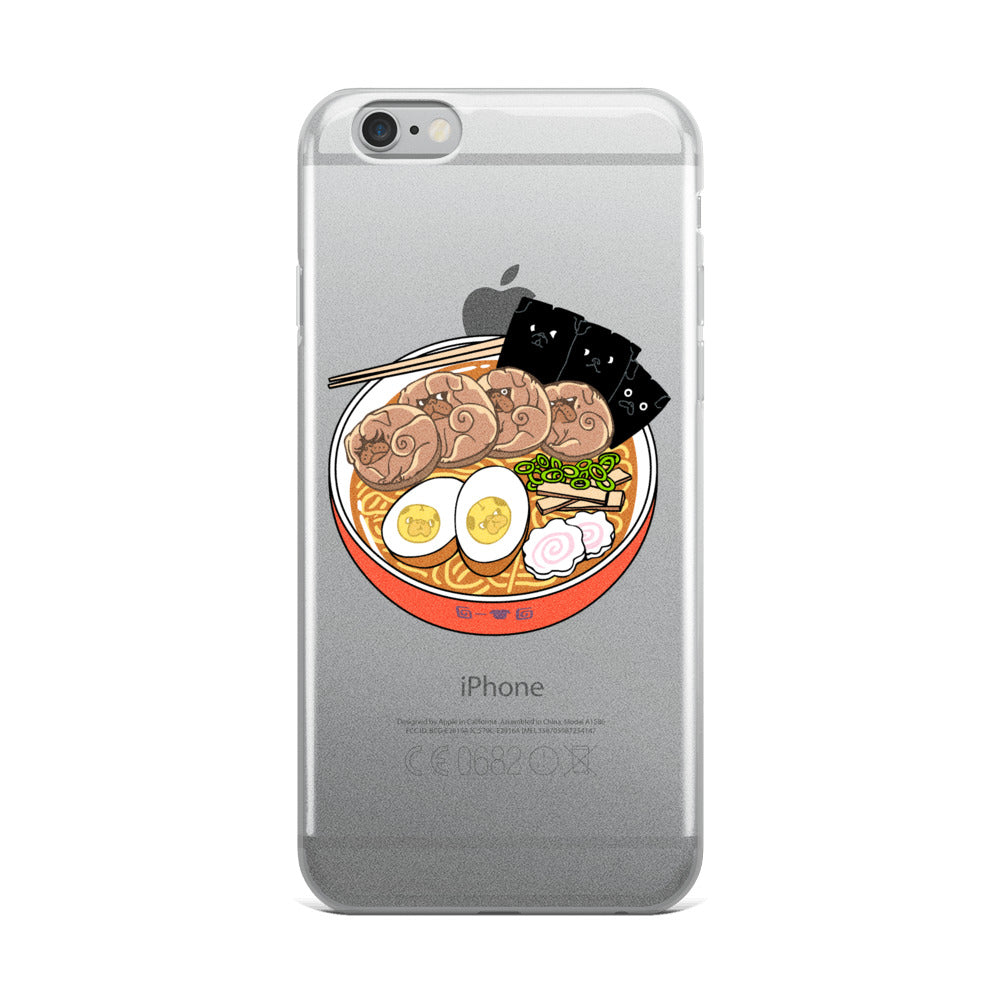 Ramen Pugs iPhone Case