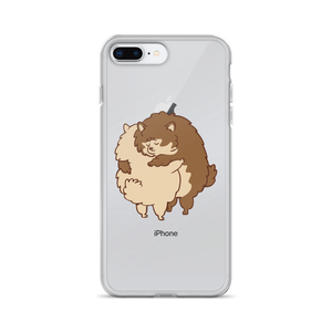 Pomeranian Hugs iPhone Case