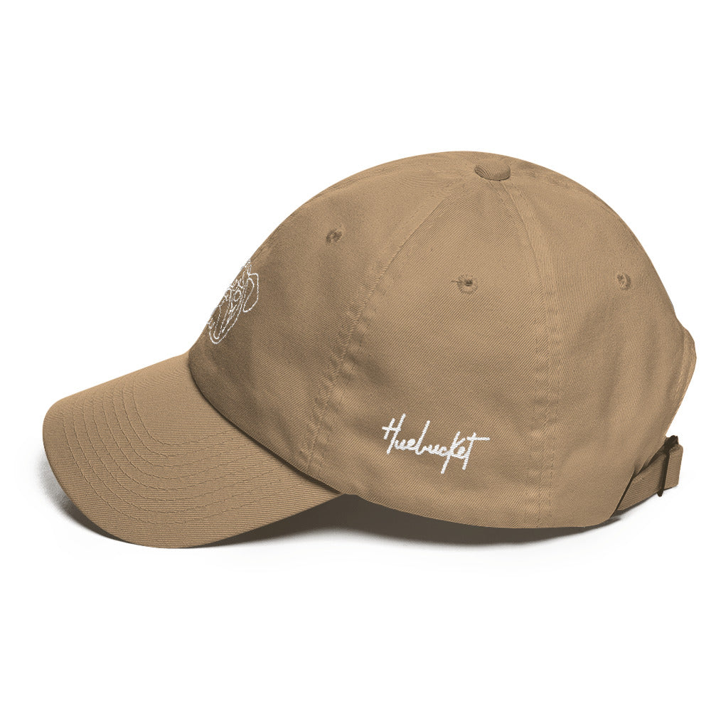 One Line English Bulldog Dad hat