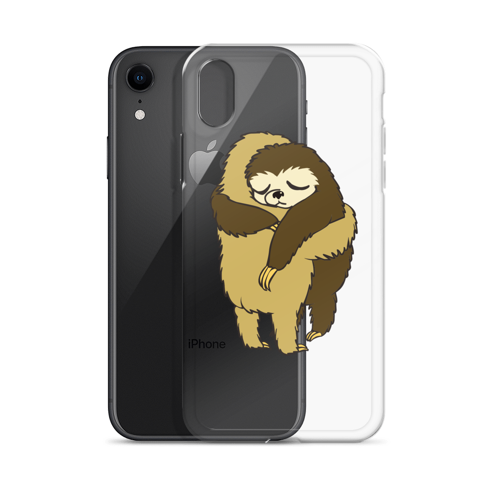 Sloth Hugs iPhone Case