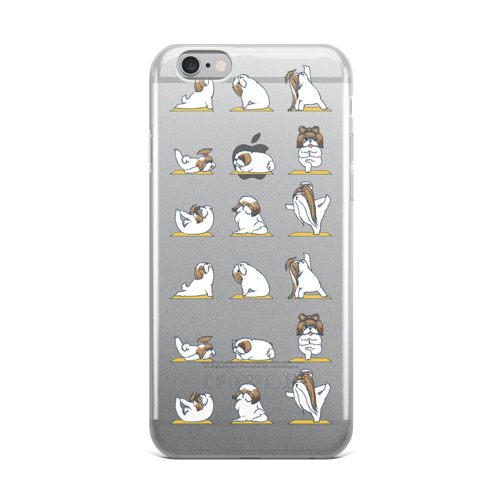 Shih Tzu Yoga iPhone Case