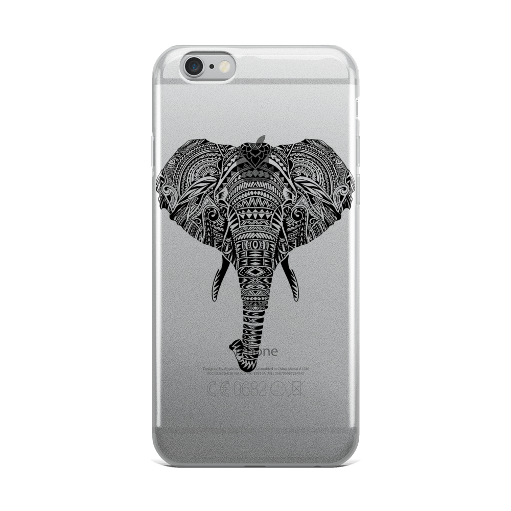Polynesian Elephant iPhone Case