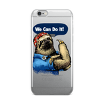 We Can Do It Sloth iPhone Case