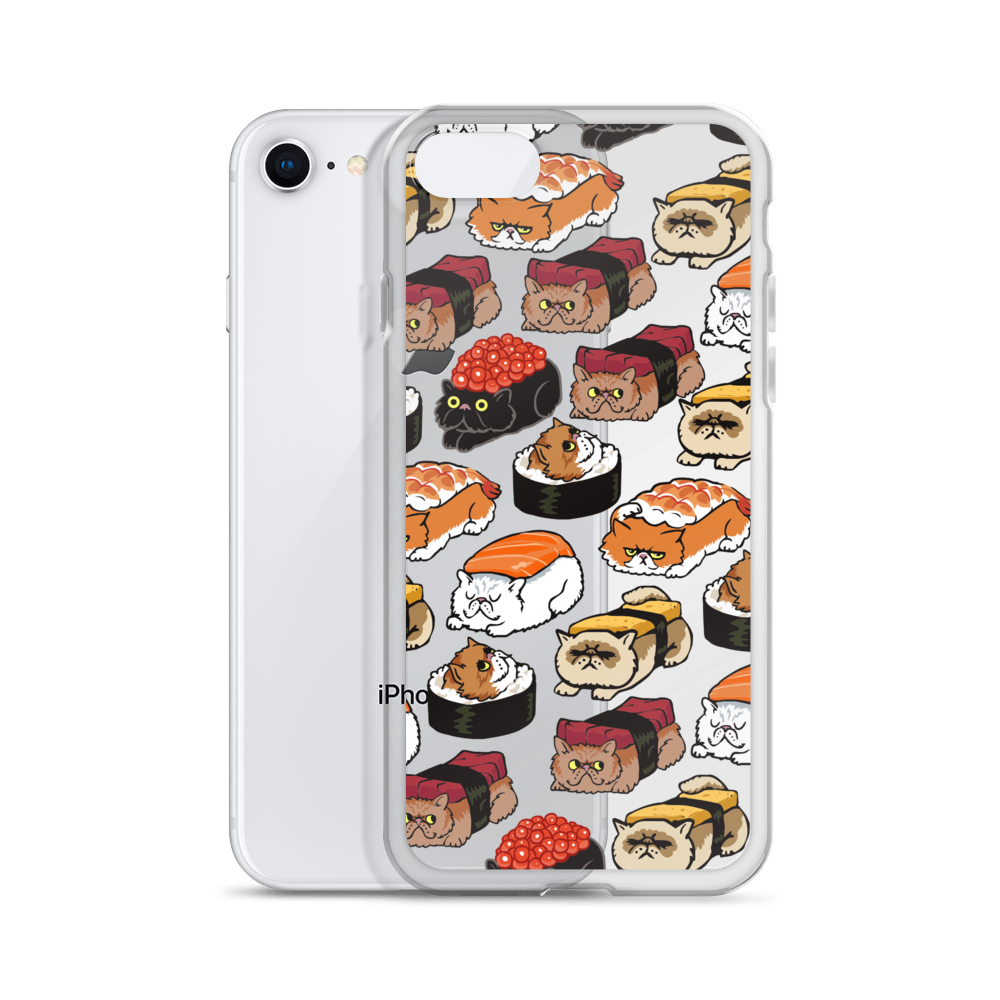 Sushi Persian Cat iPhone Case