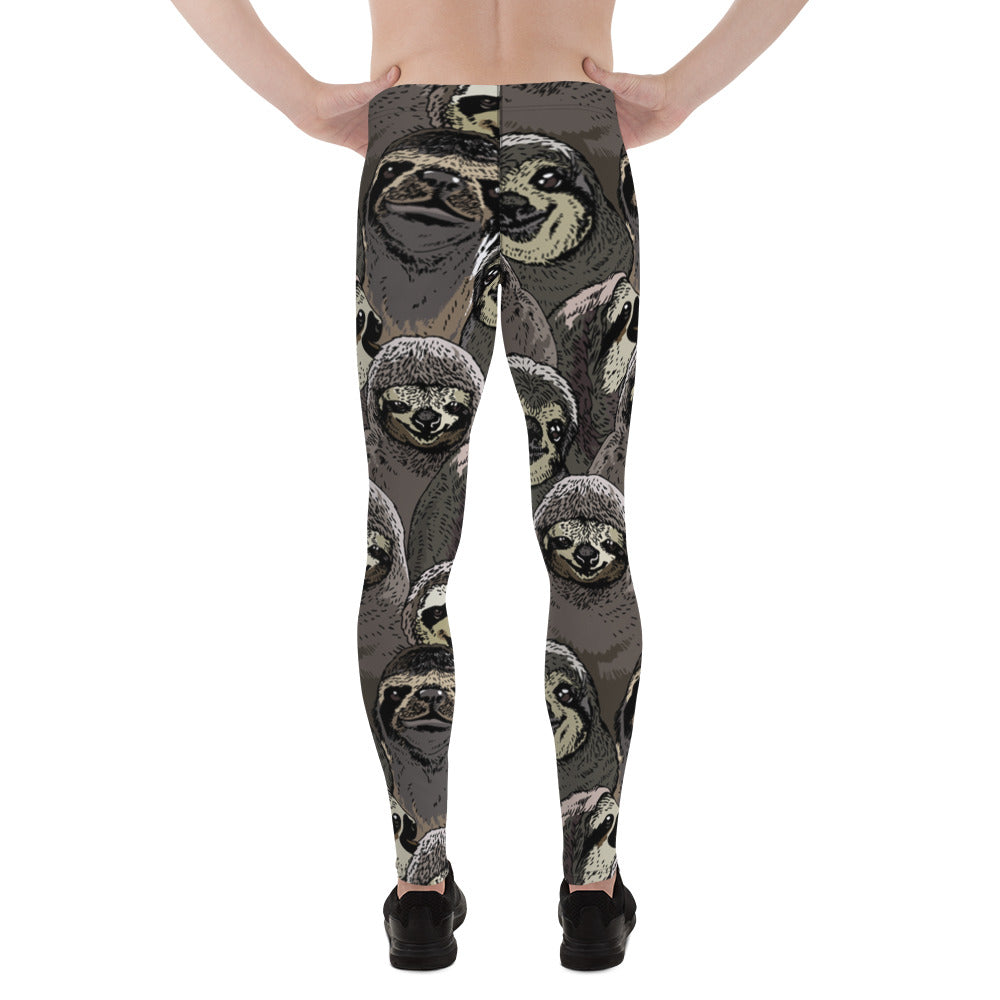 Social Sloths Men's Leggings