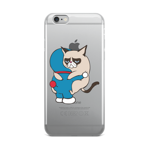 Cat Hugs iPhone Case