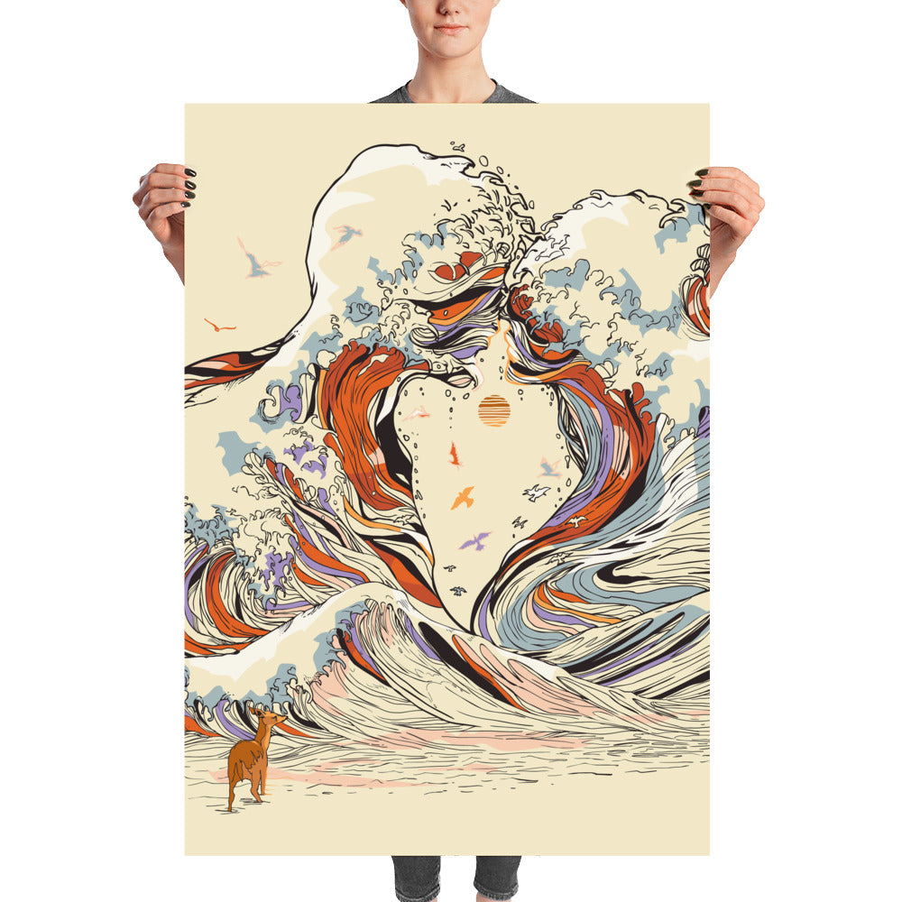 The Wave of Love Poster